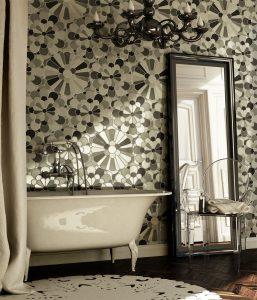 Szklana mozaika Flora od Glasspoint